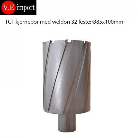 TCT hardmetall boredybde 100mm