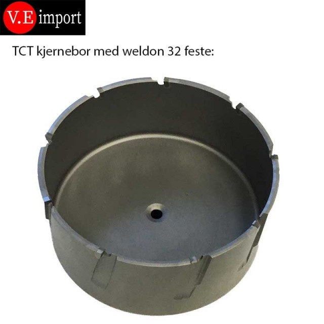 105 mm kjernebor til stål for magnetdrill