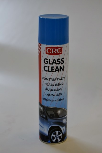 crc glass rens for vask av glass, vinduer, etc