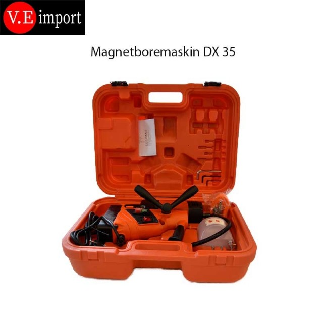 DX35 magnetboremaskin, magnetdrill fra ve import